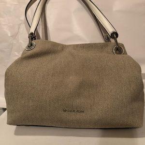 de3ee35a1e6c MICHAEL Michael Kors Bags - New Michael Kors Raven Large Natural Shoulder  Bag